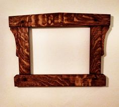 Mission Style, Arts And Crafts Style 11 X 14 Picture Frame