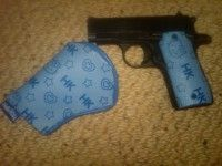 hello kitty colt gun
