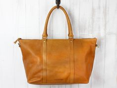 Leather Tote Bag from Scaramanga's original and classic leather bag collections