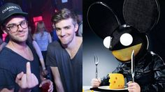 Andrew Taggart and Alex Pall have done interview in which they speak about their musical influences. The Chainsmokers and deadmau5 have