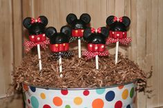 Disney themed bridal shower cake pops