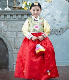 f3b03407c Girl Hanbok Korean traditional clothes 1003 dress wedding Party Korea Women  Hanbok Wedding, Korean Traditional
