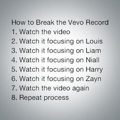 How to break the vevo record for Midnight Memories! Love You, Let It Be, My Love, Midnight Memories, I Love One Direction, 1d And 5sos, Save My Life, My Tumblr, Little Mix