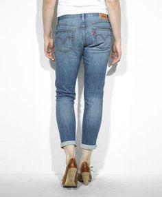 Levi's Selvedge Boyfriend Skinny Jeans - Selvedged Femme - Skinny