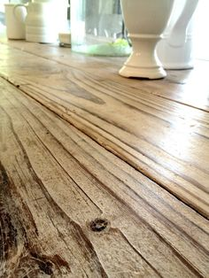 Tutorial: Briwax Liming Wax on weathered wood  faux finish.