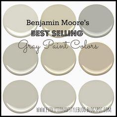 Benjamin Moore Gray