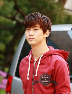 Taecyeon. The Lee Min Ho w/invisible part