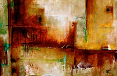 Contemporary Abstract Artwork | Orchestrate... Modern Contemporary Abstract Painting by Missouri ...