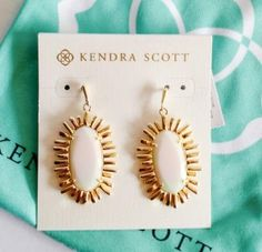 Kendra Scott Mariah Drop Earrings White Iridescent Summer 2015 Via Maya Collection Amazing Store, Minimalist Wardrobe, Kendra Scott Jewelry, Having A Baby, Comfortable Outfits, Ladies Boutique, How To Do Yoga, First Night, My Wardrobe
