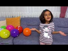 Balloon Color Balonlarla Renkler - YouTube Make It Yourself, Youtube, Blue Nails, Youtube Movies