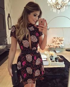 Outfits, chic outfits, dress outfits, fashion daily fashion, latest f Modern Outfits, Chic Outfits, Dress Outfits, Fashion Dresses, Casual Wear, Casual Dresses, Short Sleeve Dresses, Summer Dresses, Dress Skirt