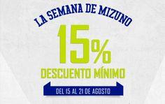 Un 15% de descuento en calzado Mizuno en Fútbol Emotion