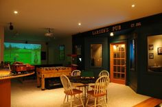 images of sport themed basements   Sports Bar / Pub Themed Man Cave