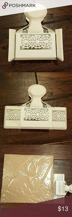 Large paper punch great for scrapbooking, large paper edge cutter, spider web Accessories