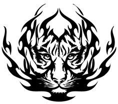 Tribal Lion Tattoo Designs | Designs for lions tribal tattoos