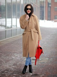 3.1 Phillip Lim, American Eagle, bittersweet colours, camel, CAMEL coat, denim on denim, denim trend, Diesel, Levis, street style, winter tr...