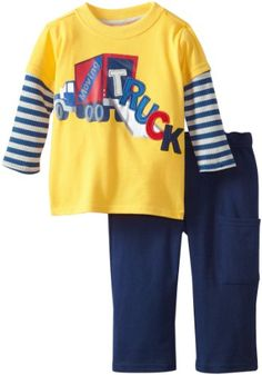 Two Piece Truck Pullover And Pant Set