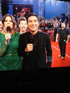 "You can tell Paul is like ""Louis get back here you can't do that on live television."" This is so funny!!!"