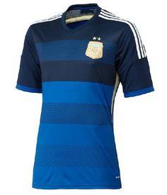 Argentina national team 2014 AWAY BLUE SOCCER JERSEY SHIRT  1402291602  World  Cup Shirts 21c7dd530