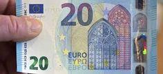 El Banco Central Europeo lanza nuevo billete de 20 euros más seguro