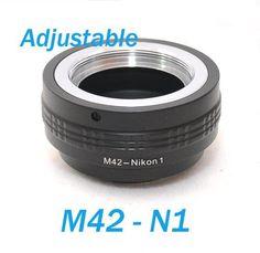 EzFoto Adajustable M42 42mm Screw Mount Lens to Nikon 1 Camera Adapter, for Nikon 1 J1 V1 - http://yourperfectcamera.com/ezfoto-adajustable-m42-42mm-screw-mount-lens-to-nikon-1-camera-adapter-for-nikon-1-j1-v1/