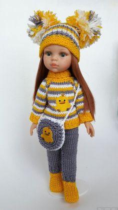 Trendy Crochet Baby Clothes Patterns Fabrics - Image 7 of 24 Crochet Baby Toys, Crochet Doll Clothes, Knitted Dolls, Girl Doll Clothes, Crochet Dolls, Girl Dolls, Baby Knitting, Knitting Dolls Clothes, Crochet Girls Dress Pattern