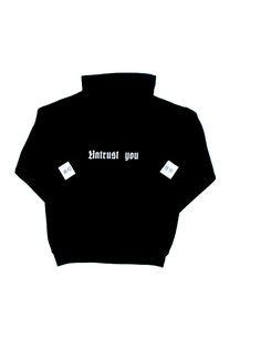 "Ritual Union — Black ""Untrust You"" Hoodie #streetwear #streetwearfashion #street #streetstyle #veryrare #menswear #supremenyc #pigalle #outfitoftheday #pyrex #pyrexvision #beentrill #givenchy #supreme #balmain #hba #hoodbyair #rhude #hypebeast #outfitgrid #ktz #kanyewest #yeezy #yeezus #asaprocky  #blackfashion #givenchy #mensfashion #highsnobiety"