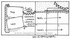 May Month-by-Month Sketch!  www.inspiredtoscrap.net (Great series of sketches using many photographs.)
