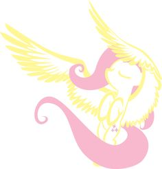 My Little Pony: Friendship is Magic Fluttershy outline