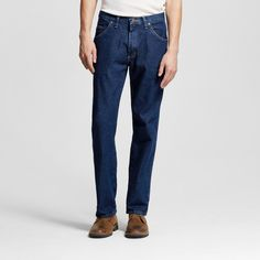 Wrangler Men's Tall 5-Star Regular Fit Jeans Lite Blue 42X36, Midnight Blue