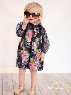 Lala Spring Top PDF Sewing Pattern girls by BellaSunshineDesigns