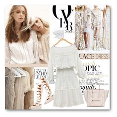 """""""#Lace Dress - Simple and Chic"""" by nikkisg ❤ liked on Polyvore featuring Été Swim, Chloé and lacedress"""