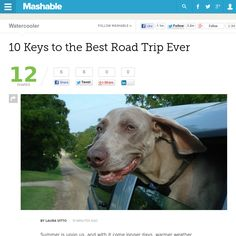http://mashable.com/2013/06/15/best-road-trip-ever/ 10 Keys to the Best Road Trip Ever | #Indiegogo #fundraising http://igg.me/at/tn5/