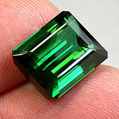 BLUE GREEN TOURMALINE Loose Vintage Gemstone 1140 by EurekaEureka, $5614.00