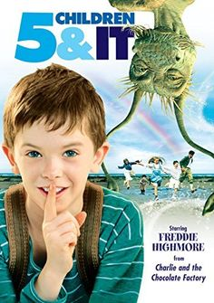 Five Children and It 2004 Poster Books Vs Movies, Top Movies, Movies And Tv Shows, Freddie Highmore, Funny Wishes, Great Comedies, The Neverending Story, Blockbuster Movies, Prime Video