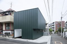 Compact Two-Story House Keeping The Noise Away in Tokyo, Japan