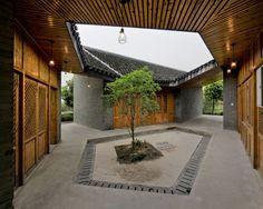 Scenic Architecture · Community Pavilion at Jintao Village · Divisare
