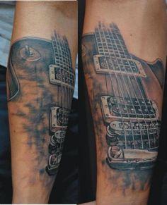 tattoos guitars | Guitar tattoo by Miro Pridal, guitar tattoos, tattoos, tattoo designs ...