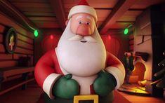 Alexa, Call Santa - IV Studio Animated Gif, Santa, Animation, Studio, Kids, Young Children, Boys, Studios, Children