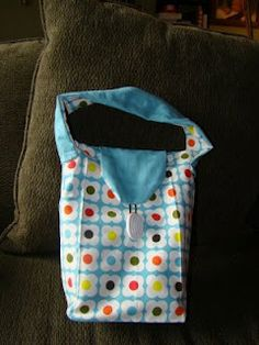 Reusable lunch bag--nice for tucking in some of the items in a shoe box and useful for the child.