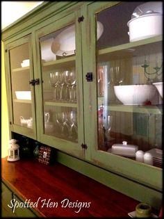 17 Best Refinished Hutches Images Furniture Makeover