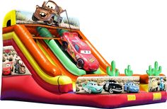Buy discount Cars Double Lane Slide for adult or kids to play, East Inflatables is a leading, worldwide manufacturer of inflatables with Inflatable Toy Cars for sale, and other inflatables with Europe's largest online catalogue of Double Lane Slide. Blow Up Water Slide, Water Slides, Inflatable Slide, Inflatable Bouncers, Giant Inflatable, Disney Cars, Toy Cars For Sale, Bouncy Castle For Sale, Cheap Sports Cars