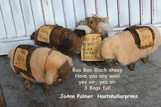 Primitive sheep, www.facebook.com/HootnhollarprimsByJoannPalmer
