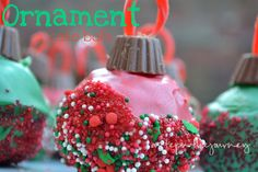 Ornament Cake Balls   A Step in the Journey.  Click for #recipe and More Kid-Friendly #Cookies