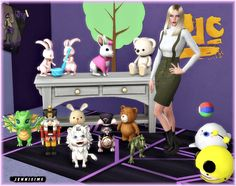 Kid's Clutter Vol16 (11 items) at Jenni Sims via Sims 4 Updates