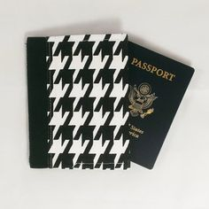 Protect your passport from damage and make it easy to find  with a Passport Wallet! http://ift.tt/1LMhqo9 #airplane #woman #travel #traveler #love #blackandwhite #trip #houndstooth #shopping #passport  #passportwallet #wallet #snapwallet #alabama #fashion #etsy #trip #makeup #fireboltcreations #organizer #etsyseller #accessory #design #vacation #shopping #monday #passportcase #travel #travelgift