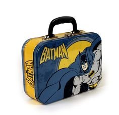 Batman Retro Lunch Tin/Tote: Amazon.co.uk: Office Products