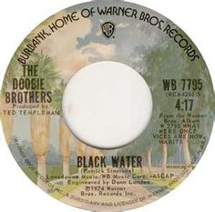 The Doobie Brothers - Black Water 1974 i love seeing the 45 record label again.. cool