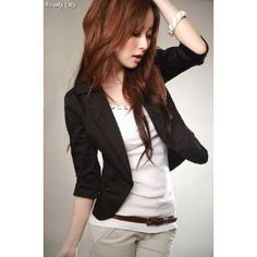 Beauty City - Blazer Saco Stylish Mujer Fashion Moda Coreana