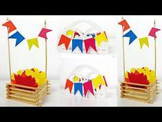 COMO FAZER CENTRO DE MESA PARA FESTA JUNINA - FAÇA SUA FESTA | POR CAROL GOMES - YouTube Festa Toy Story, Christmas And New Year, Kids Rugs, Baby Shower, Birthday, Party, Mario Bros, Harry Potter, Tropical